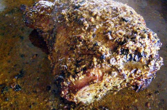 Gigot d'agneau épicé et caramélisé - Photo par alladi5