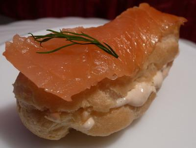 Mini éclairs au saumon - Photo par Charlotine - Les Yeux plus gros que le Ventre