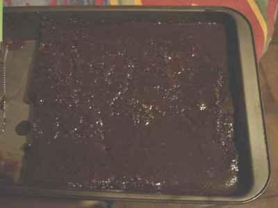 Pudding au chocolat et au rhum - Photo par sandra