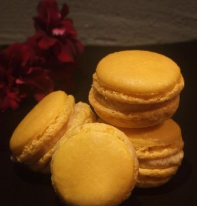 Macarons à la bergamote - Photo par Marie-Laure du blog : Ça sent beau dans la cuisine
