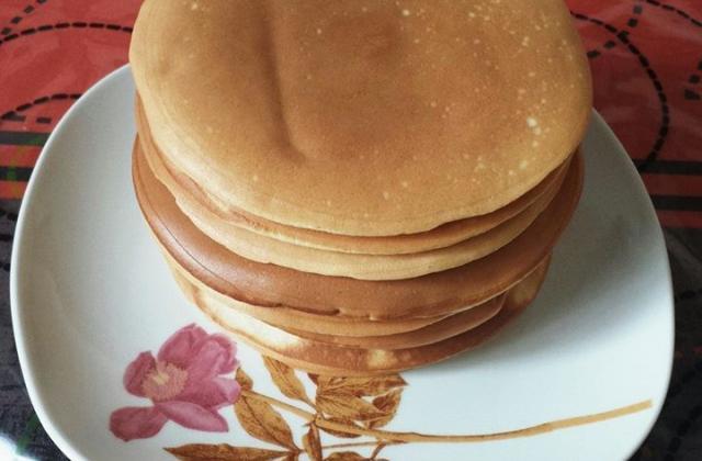 Pancakes à la vanille - Photo par mounasr