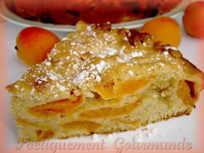 Moelleux abricots et nougat blanc - Photo par ninie3011