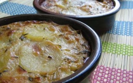 Gratin de pommes de terre au Roquefort - Photo par Nadia Paprikas