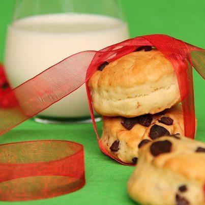 Scones aux pépites de chocolat - Photo par Sucre D'Orge