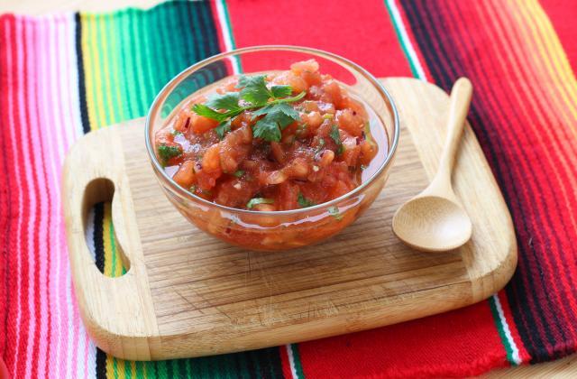 Salsa de tomate à la Mexicaine - Photo par Silvia Santucci
