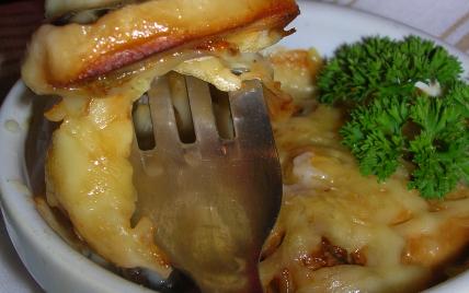 Mini Gratin de la Mer avec son cœur d'artichaut, champignons et sa sauce béchamel - Photo par mcarol