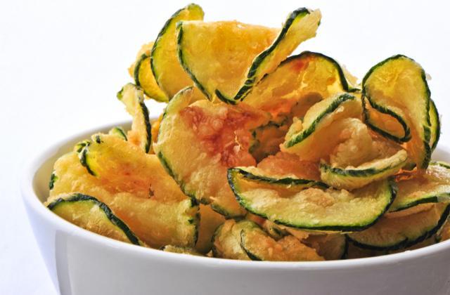 Chips de courgettes - Photo par sybillI
