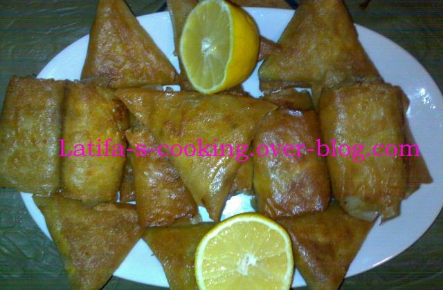 Briwates au poulet - Photo par Latifa876