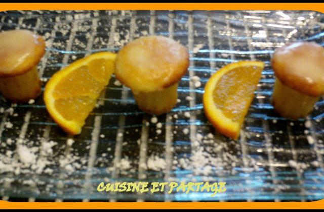 Fondants à l'orange - Photo par cuisine et partage