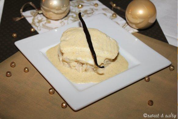 Turbot, sauce à la vanille - Photo par Dan