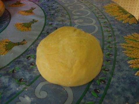 La pâte à tarte sucrée - Photo par FADWA