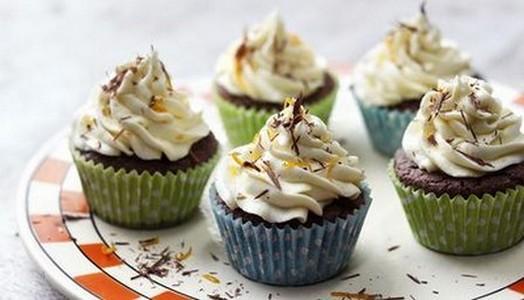 Cupcakes choco-orange - Photo par Gourmandises45