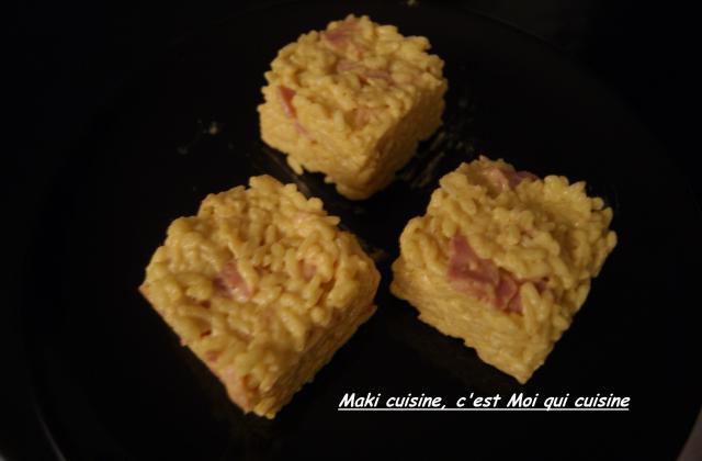 Risotto jambon et curry - Photo par Maki cuisine