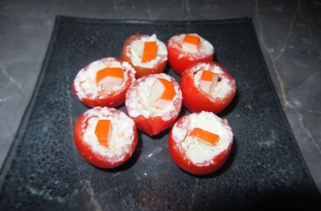 Tomates cerises farcies gourmandes - Photo par Ameloche