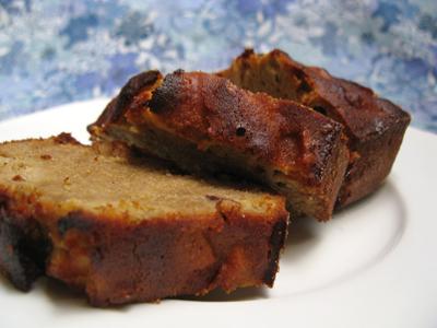 Cake aux pommes et noisettes caramélisées - Photo par nerminh