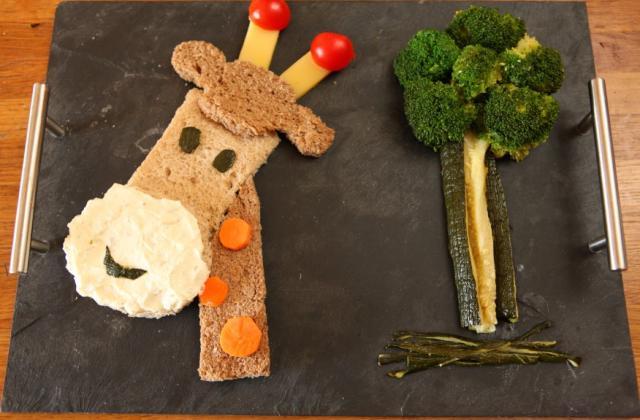 Les assiettes funky ! - Photo par Bridelice