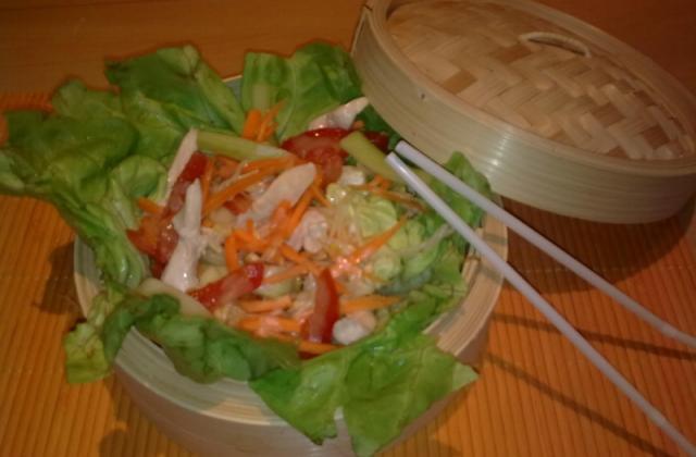 Salade de poulet chinoise - Photo par oumowayss