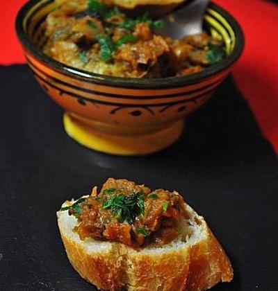 Zaalouk ou Dips d'aubergine - Photo par CuisinonsEnCouleurs