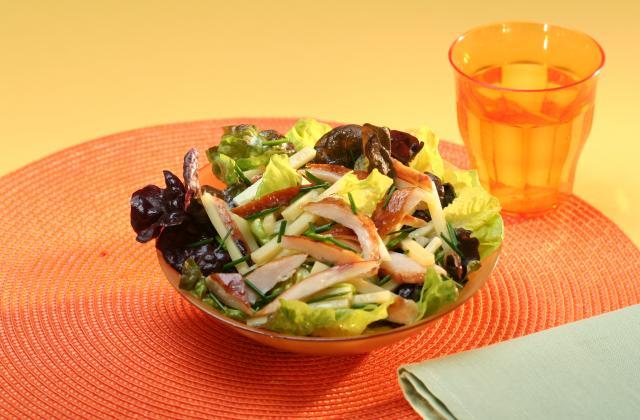 Salade de poulet rôti et emmental - Photo par Amora