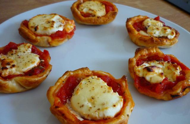Tartelettes tomates et chèvre - Photo par wendie