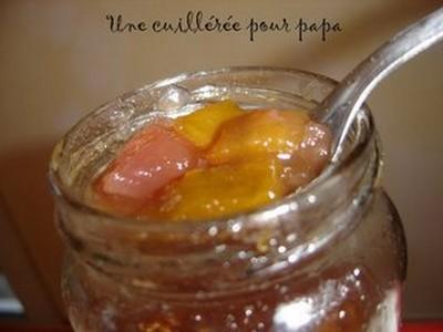 Confiture de courge et pommes aux épices - Photo par Marie-France