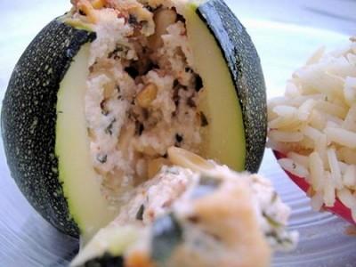 Courgettes farcies végétariennes alla ricotta - Photo par isonea