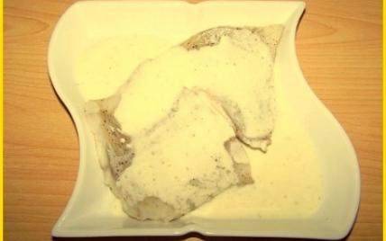 Lieu noir à la crème de Boursin - Photo par biscottine