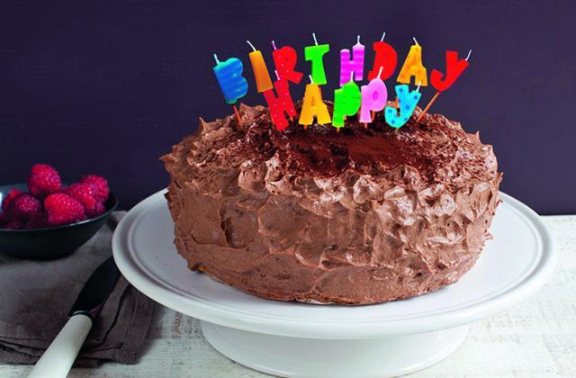 Gâteau d'anniversaire au Cacolac® - Photo par Cacolac