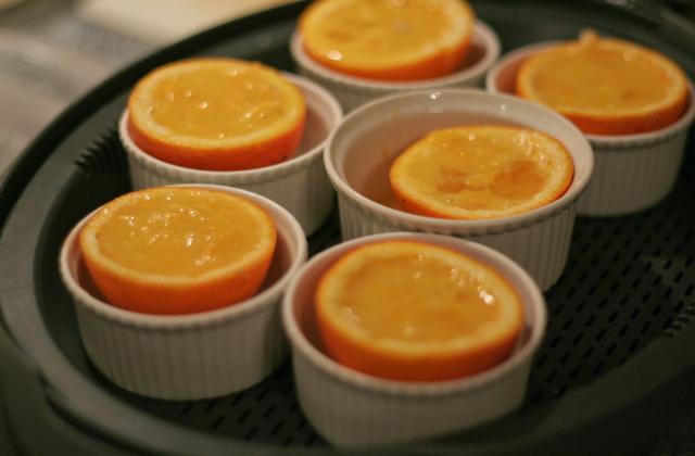 Oranges épicées à la vapeur... - Photo par notrea
