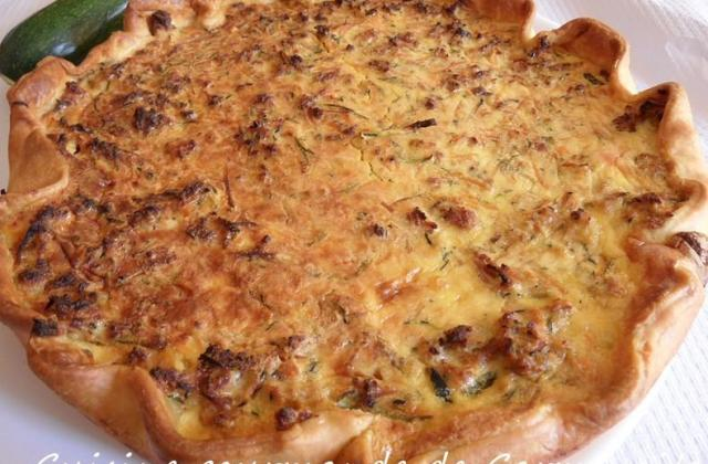Clafoutis de courgettes au fromage fines herbes - Photo par Carmen