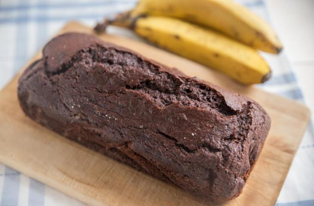 Banana bread au chocolat - Photo par 750g