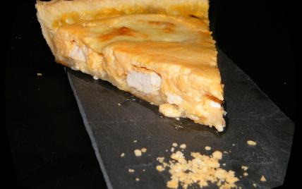 Quiche au poulet, potiron & fromages - Photo par chouya