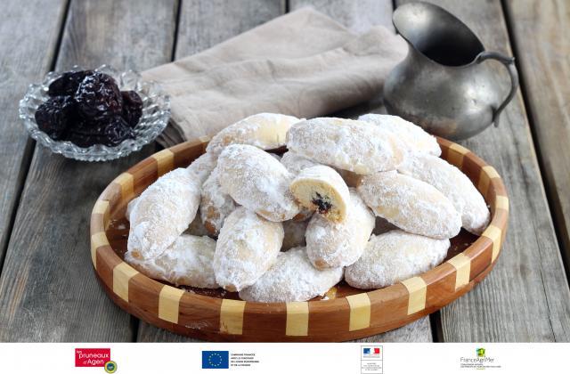 Sablés farcis à la pâte de pruneaux d'Agen - Photo par Silvia Santucci