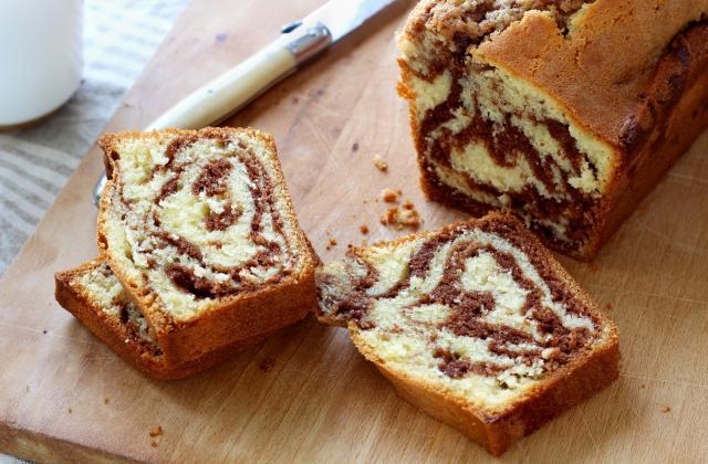 Cake marbré au Nutella - Photo par Silvia Santucci