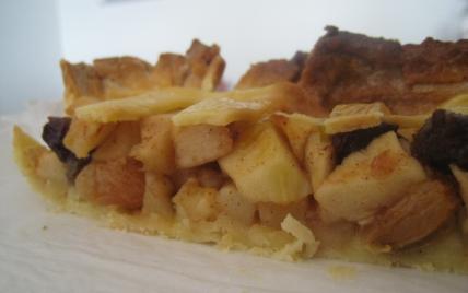 Tarte aux pommes hollandaise (Dutch apple pie) - Photo par noviceencuisine
