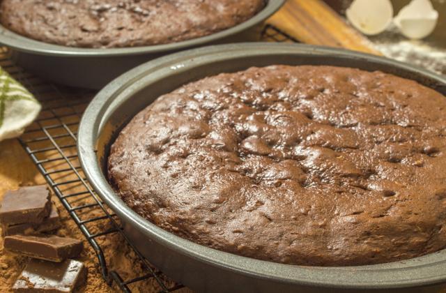 Gâteau fondant au chocolat sans beurre - Photo par delf745