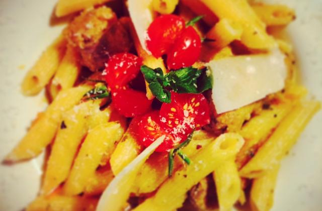 Penne all'arrabiata gialli - Photo par maximey6