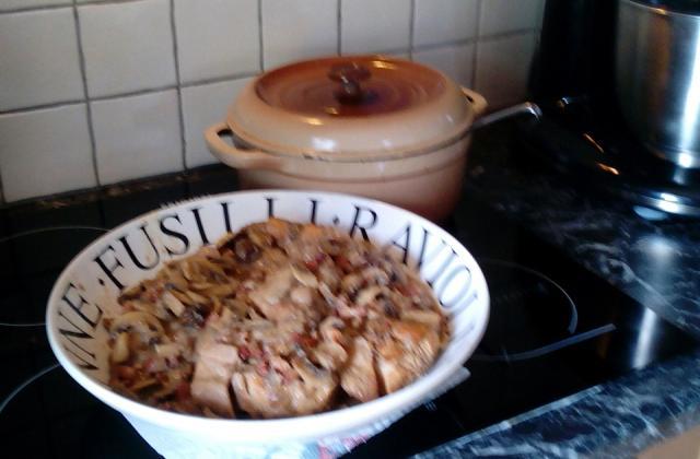 Lapin au cidre et lardons - Photo par vabaro2