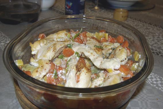 Tendre poulet - Photo par coccinet-cook