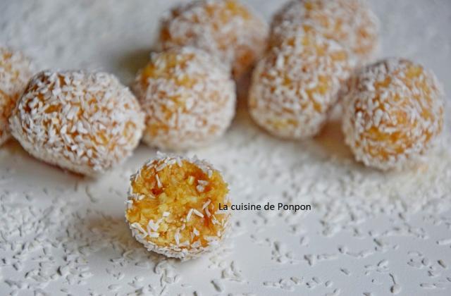 Boule aux noix de cajou et caramel vegan - Photo par Ponpon