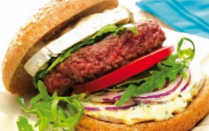 Bresse-burger du dimanche - Photo par Bresse Bleu