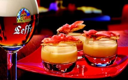 Velouté de topinambour au goût de jambon - Photo par Leffe