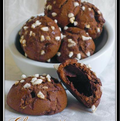 Chouquettes au chocolat et fève tonka - Photo par Lilouina