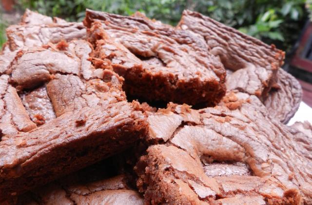 Brownies chocolat caramel aux Daims - Photo par Babeth De Lille