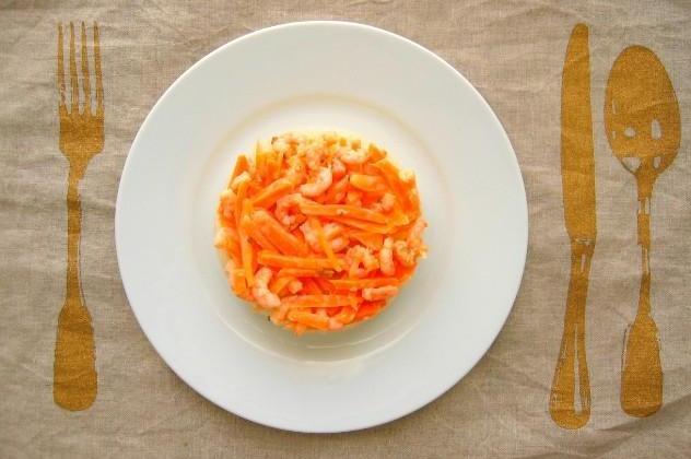 Vermicelles de Soja aux crevettes - Photo par tombouctou