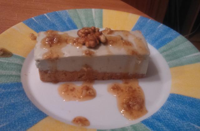 Roquefort façon cheesecake - Photo par lesliewp