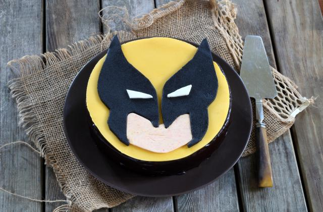 Gâteau X-MEN Wolverine - Photo par Silvia Santucci