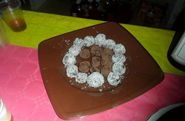 Truffes au chocolat alcoolisées - Photo par christiCN
