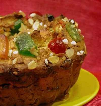 Couronne des rois : délice aux fruits secs et fruits confits - Photo par mimilafee