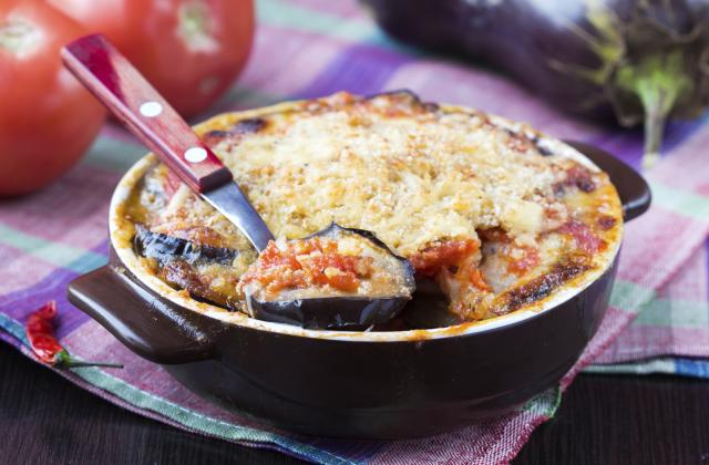 Lasagnes d'aubergines et tomates - Photo par laur52